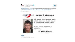 الشرطة الفرنسية تنشر صورة جديدة لأحد منفذي هجمات باريس