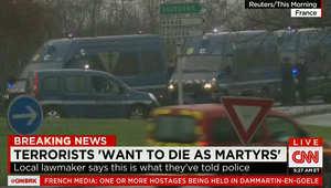 """المشتبه بهما """"يريدان الموت كشهداء"""" ومفاوضات لإطلاق رهينة قرب مطار """"شارل ديغول"""""""