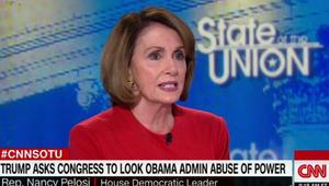 بيلوسي لـCNN: اتهام ترامب لأوباما بالتنصت تكتيك استبدادي
