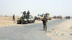 قوات بشمركة على مشارف مدينة كركوك