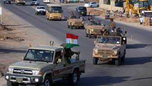 """مقاتلون من البيشمرغة يغادرون شمال العراق في طريقهم إلى """"كوباني"""" عبر تركيا"""