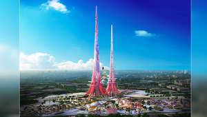 """برج """"فينيكس"""" في الصين..هل يسرق الأضواء من برجي خليفة والمملكة؟"""