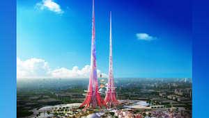 كيف ينظف أعلى برج في العالم الهواء من حوله في المستقبل؟