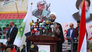 """الخزعلي: النظام السعودي هو """"العدو الثالث"""" للعراق.. ونشكر إيران وحزب الله"""
