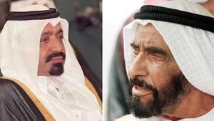 قرقاش ينشر قصيدتين متبادلتين بين الشيخ زايد والشيخ خليفة بعد سيطرة ابنه على الحكم