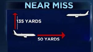 أمتار قليلة بين طائرتين تنقذ الطيران الأمريكي من كارثة جوية