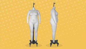 """لماذا يجب على عالم الأزياء الحصول على تماثيل """"مانيكان"""" بالقياسات الكبيرة؟"""