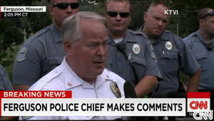 قائد شرطة فيرغسون يدلي بتصريحه الجمعة