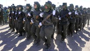 مقاتلات من البوليساريو