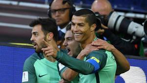 رونالدو يقود البرتغال لانتصار تاريخي ويحقق رقما قياسيا