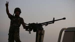 قدمت أمريكا الغطاء الجوي لدحر داعش عن سد الموصل