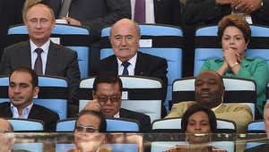 من افتتاح كأس العالم لكرة القدم في البرازيل صيف 2014