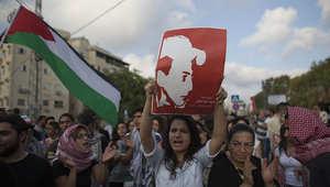 مظاهرة في عكا احتجاجا على حرق الفتى محمد أبوخضير وقتله في القدس