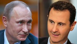 """بوتين لـCNN: الأسد """"ملتزم"""" بالحل السياسي ووافق على تطوير دستور وإجراء انتخابات جديدة بسوريا"""