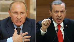 """بعد أنباء عن انتهاك مقاتلة روسية لأجواء تركيا.. موسكو تُشير لتورط """"الذئاب الرمادية"""" التركية في إسقاط طائرتها في سيناء"""