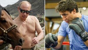 بالصور: تنحّ جانبا يا بوتين.. هل يُصبح رئيس الوزراء الكندي القيادي العالمي الأكثر لياقة بدنيا؟