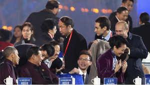 لفتة بوتين تجاه سيدة الصين الأولى