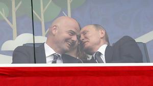 روسيا تهزم نيوزيلندا تحت أنظار بوتين في افتتاح كأس القارات