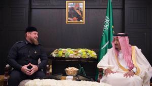 الرئيس الشيشاني يجتمع بالملك سلمان: السعودية تنسق جهود مواجهة الشر