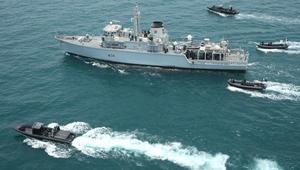 """قطر تنهي تدريبات بحرية مع بريطانيا لـ""""مكافحة الإرهاب"""""""