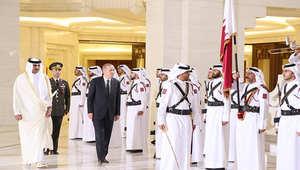 """بالصور: أردوغان يدشن مع أمير قطر في الدوحة مشروع """"القرية التركية"""" واتفاق على """"مجلس استراتيجي"""""""