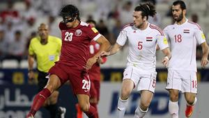 قطر تفوز على سوريا وتحصد أول نقاطها بالتصفيات