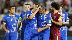 قطر تخسر من أوزبكستان وتودع تصفيات المونديال