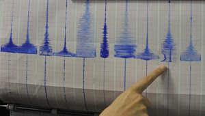 من الأرشيف: رسم بياني يحدد مقياسات هزة أرضية