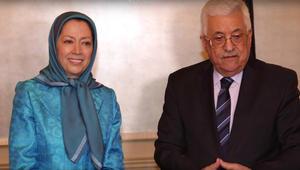 إيران وأنصارها يتهمون عباس بالتبعية للسعودية بعد لقائه بمريم رجوي ومنظمة التحرير ترد بعنف
