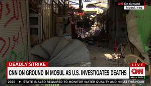 قائد التحالف ضد داعش: مقتل المدنيين بالموصل بغارة أمريكية محتمل