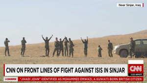 مسعود بارزاني يعلن الانتصار على ميليشيا داعش واستعادة سنجار