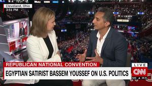 باسم يوسف يبين لـCNN ردة فعل الناس في أمريكا عند معرفة أنه عربي ومسلم