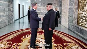 سيؤول: رئيس كوريا الجنوبية التقى كيم جونغ أون السبت بالمنطقة منزوعة السلاح