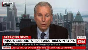سفير أمريكا السابق بدمشق لـCNN: إذا لم ترسل روسيا الآلاف من عناصرها البرية لسوريا فلن تحدث الغارات فرقا كبيرا.. النظام قصف المعارضة لأعوام