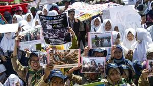 مظاهرات تضامنية مع الروهينغا بعدة دول.. وتحفظ من زعماء الغرب