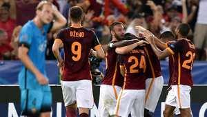 بهدف خرافي.. روما يتعادل مع برشلونة في دوري أبطال أوربا