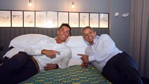 بالصور: رونالدو يفتتح فندقه الجديد في ماديرا