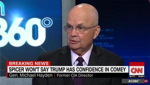 رئيس الـCIA السابق يبين لـCNN شروط التنصت المتبعة بأمريكا