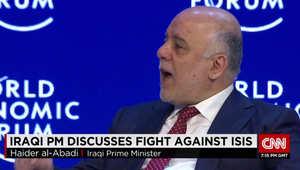 حيدر العبادي لـCNN: هناك من يمد داعش بحبل للحياة.. والطائفية سلاح يستخدمه اللاعبون في المنطقة