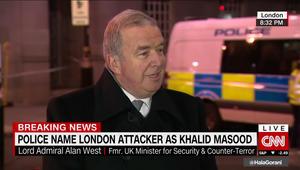 وزير أمن بريطانيا الأسبق يبين لـCNN
