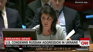 بأول ظهور لها.. ماذا قالت سفيرة أمريكا الجديدة للـUN عن روسيا؟