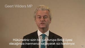 تداول رسالة لبرلماني هولندي: أردوغان إسلامي خطير وانسوا انضمام تركيا للـEU