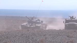 مناورات عسكرية بين روسيا والصين في قرغيزستان