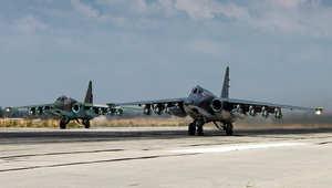 """موسكو تشرح سبب اقتراب مقاتلة روسية من طائرة أمريكية في سماء سوريا.. وتعلن عن 41 غارة جديدة على """"داعش"""""""