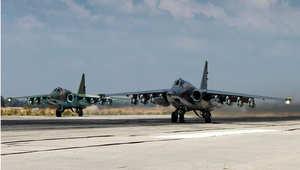روسيا تعلن عن شن 669 غارة جوية في سوريا.. وتلوح باستخدام أسطولها العسكري في البحر المتوسط
