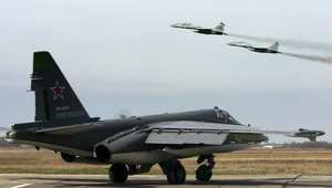 صورة أرشيفية لطائرة مقاتلة روسية