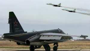 صورة أرشيفية لمجوعة من الطائرات العسكرية الروسية