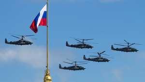 روسيا تكشف عن اتفاق لتزويد مصر بـ50 مروحية هجومية