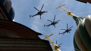 """روسيا.. 6 قتلى في تحطم مروحية نقل """"مي - 8"""""""