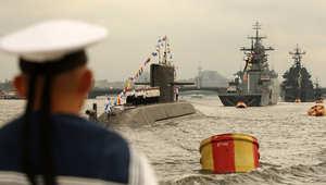 """روسيا تنذر """"الناتو"""" وتبدأ تدريباً بحرياً شرق المتوسط"""